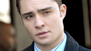 "Ed Westwick am Set der Serie ""Gossip Girl"" 2009"