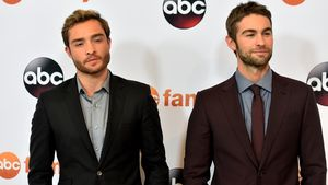 Ed Westwick und Chace Crawford bei ABC