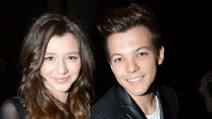 Eleanor Calder und Louis Tomlinson bei der London Fashion Week, 2013