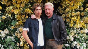 Stolzer Papa Boris: Elias Becker modelt für Dolce & Gabbana!