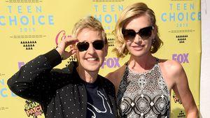 Ellen DeGeneres und Portia de Rossi bei den Teen Choice Awards 2015