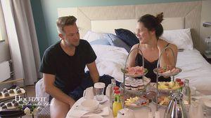 Honeymoon in Deutschland: Waren Emily und Robert traurig?