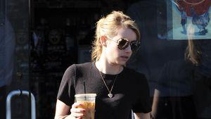 Saft-Diät: Wo will Emma Roberts denn abspecken?