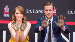 "Emma Stone und Ryan Gosling bei ihrer ""Hand and footprint ceremony"" in LA"