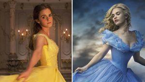 """Emma Watson als """"Belle"""" und Lily James als """"Cinderella"""""""