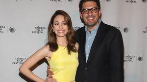 Emmy Rossum und ihr Verlobter Sam Esmail