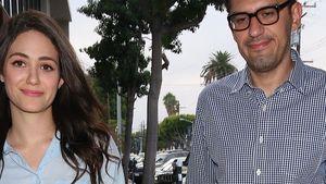 Emmy Rossum: Top gestylt auf dem Weg zum Date