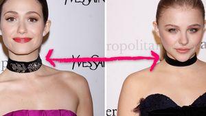 Emmy Rossum & Chloë Moretz mit Halsband