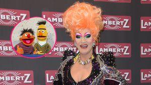 Nach Outing: Ernie & Bert bekommen Support von Olivia Jones