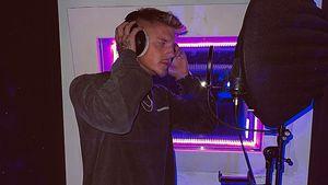 """Im Studio: Geht """"Love Island""""-Paco jetzt unter die Rapper?"""