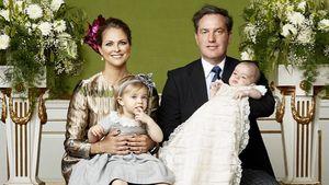 Familienfoto anlässlich der Taufe von Prinz Nicolas