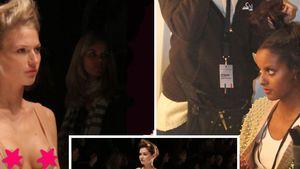 Busenblitzer & Stolperfallen auf der Fashion Week!