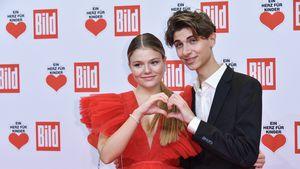 Süßes Paar-Debüt: Faye Montana und Lukas Rieger auf Event!