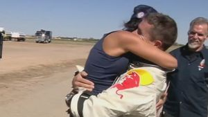 Felix Baumgartner: So emotional war die Landung