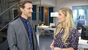 Felix (Thaddäus Meilinger) und seine Freundin Sunny (Valentina Pahde) bei GZSZ