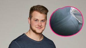 Da ist der Bauch! Felix van Deventer zeigt schwangere Antje!