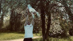 Selten: GZSZ-Star Felix van Deventer zeigt sich mit Sohn