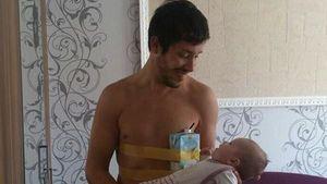 Wollny-Flo: Mit angeklebter Milch zur Ersatz-Mama
