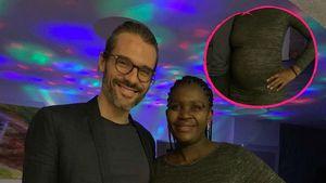 Maite Kellys Ex teilt ein Bild vom Babybauch seiner Freundin