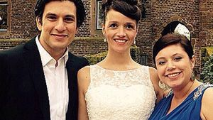 Francisco Medina, Kaja Schmidt-Tychsen und Julia Augustin