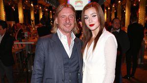Frank Otto und Nathalie Volk bei einer Wohltätigkeits-Gala in Hamburg