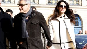 George und Amal Clooney 2017 in Paris