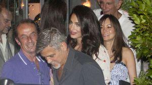 George Clooney und Amal beim Dinner mit Freunden in Mailand