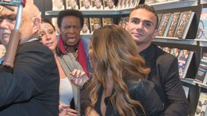 Auf Buchmesse: Patrica Blanco greift Vater Roberto an!