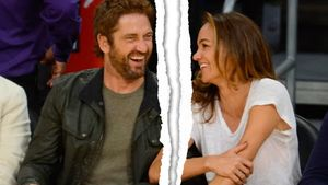 Gerard Butler und Morgan Brown
