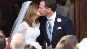 Geri Halliwell: Verliebter Kuss als frisch gebackene Ehefrau