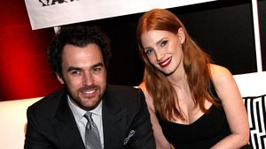 Gian Luca Passi und Jessica Chastain bei Oscar Week Party