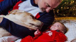 Verliebter Papa: Tanzender Millionär zeigt Baby-Momente