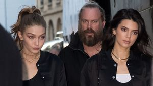 Gigi Hadid und Kendall Jenner im November 2016 in Paris