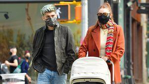 Entspannt! Gigi Hadid und Zayn Malik mit Baby Khai unterwegs