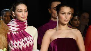 Catwalk-Queens: Gigi & Bella Hadid rocken NY Fashion Week