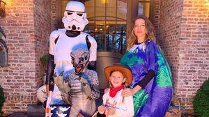 So feierten Gisele Bündchen und Ehemann Tom Brady Halloween!