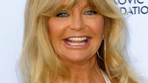 Goldie Hawn Tennisevent Nahaufnahme