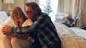 Kate Hudsons Baby mit Oma Goldie Hawn und Opa Kurt Russell!