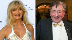 Goldie Hawn und Richard Lugner