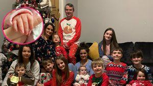 Größte britische Familie Radford hat 22. Baby bekommen!