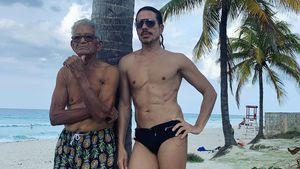 Jorge Gonzalez zeigt seinen fitten Papa (98) in Badehose!
