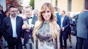 Gülcan Kamps beim Finale von Face en Vogue 2017