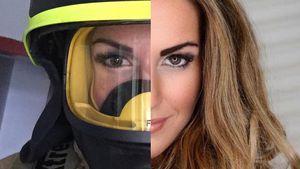 Heiß! Diese sexy Feuerwehrfrau ist ein totaler Hit im Netz