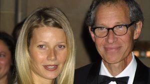 Schauspielerin Gwyneth Paltrow und ihr Vater Bruce 2001