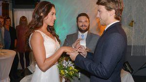 GZSZ romantisch! Elena & Dominik feiern Hochzeit