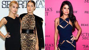 Hailey Baldwin, Bella Hadid und Selena Gomez