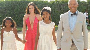 Hana Nitsche spielt Familie mit Russell Simmons