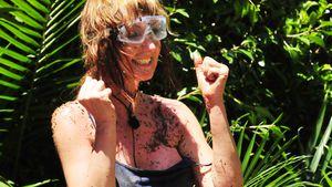 Hanka Rackwitz nach der Dschungelprüfung an Tag sechs