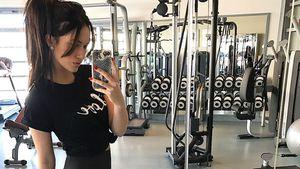 Baby-Pfunde ade! Hanna Weig trainiert schon für Bikini-Figur