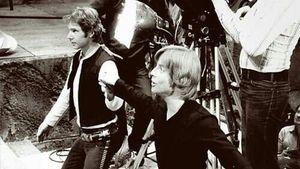 """Mit Harrison Ford: Mark Hamill postet """"Star Wars""""-Throwback"""